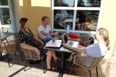 Kursus-udvalget: Mia, Karsten og Jenny