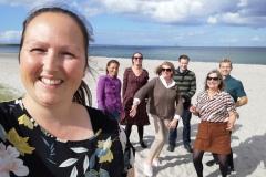 Bestyrelses-selfie på Nyborg Strand